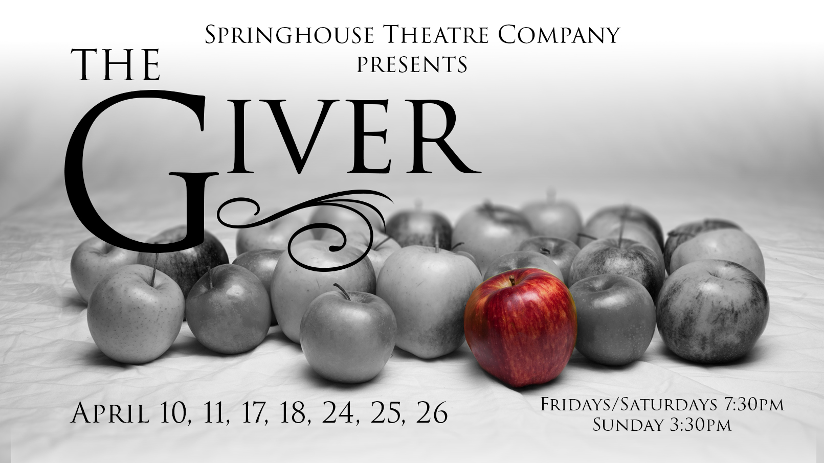 The Giver Springhouse Theatre