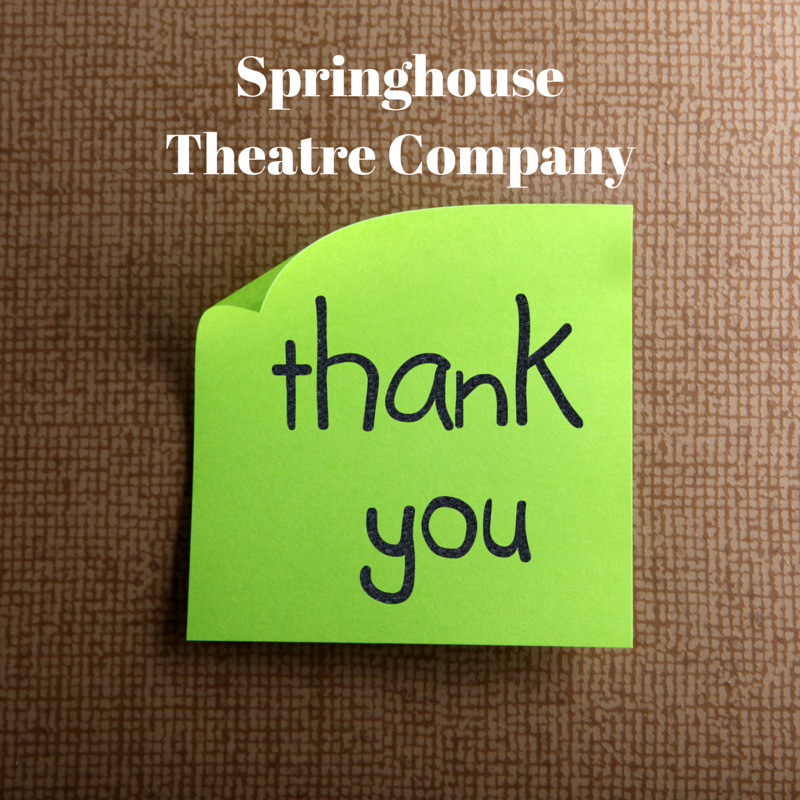 Springhouse Theatre Company was Voted A Great Place for Kids