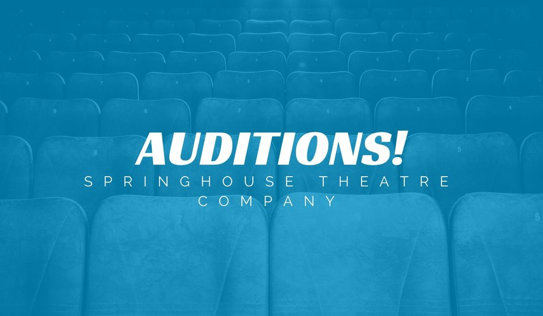 SPRINGHOUSE THEATER COMPANY ANNOUNCES AUDITIONS FOR THE CURIOUS SAVAGE