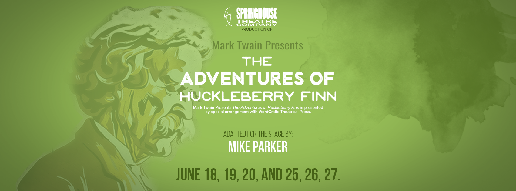 header image for tom sawyer presents the adventures of huckleberry finn